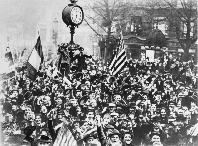 AP photo 11.11.1918.
